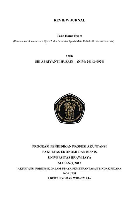review jurnal akuntansi forensik uas ppak kelas malam