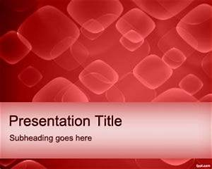red cells powerpoint template With blood ppt templates free download