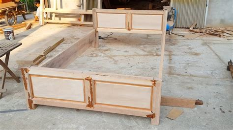 woodworking projects   install  bed frame youtube