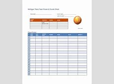 Basketball Lineup Template EnTown Posters