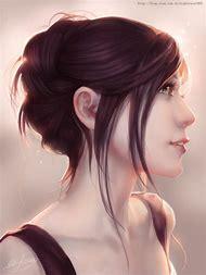 Realistic Digital Girl Art