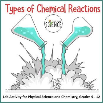 types  chemical reactions  amy brown science tpt