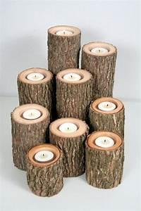 Aus Holz Basteln : kerzenhalter basteln 35 beispiele dass kerzenhalter ~ Lizthompson.info Haus und Dekorationen