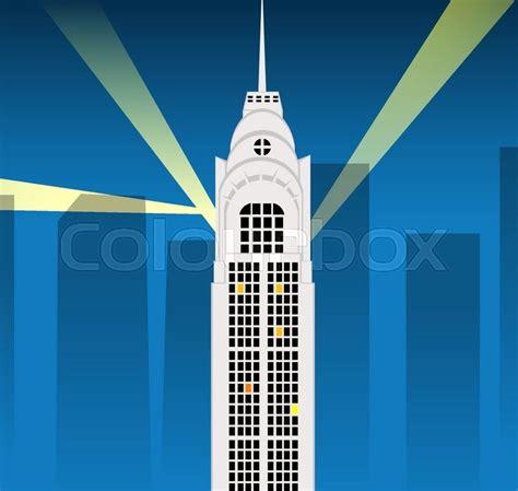 cartoon skyscraper vector eps stock vector colourbox
