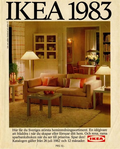 home interior decor catalog ikea catalog covers from 1951 2015