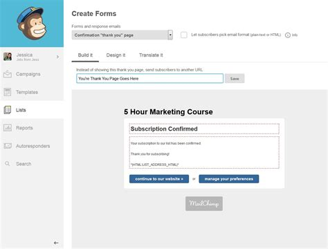 final forms sign up 3 mailchimp hacks that will save you lots of money