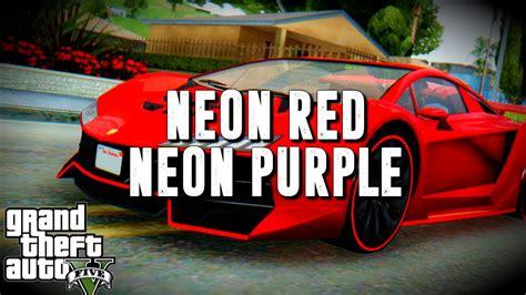 gta 5 crew colors gta 5 bright purple and neon gta v crew
