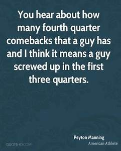 Peyton Manning Quotes   QuoteHD