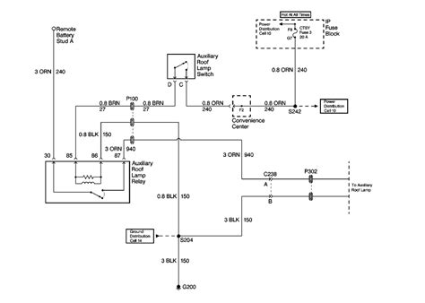 Auxilary Light Wiring Diagram Vehicle by Repair Guides