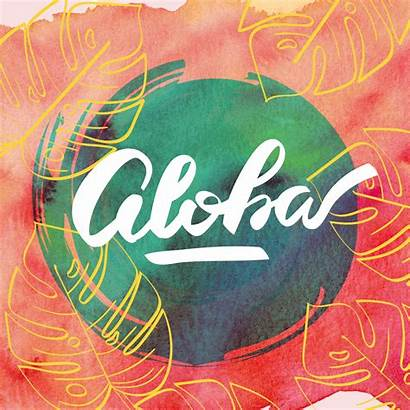 Aloha Identity Behance Candles Tropical Packaging