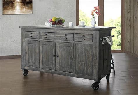 ifd furniture  moro rustic kitchen island dallas