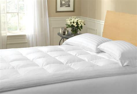 best mattress toppers best feather mattress topper reviews feather bed topper