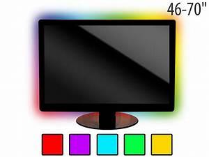 Led Hintergrundbeleuchtung Tv Nachrüsten : lunartec tv hintergrundbeleuchtung lt 184c 4 leisten usb multicolor 46 70 ~ Watch28wear.com Haus und Dekorationen