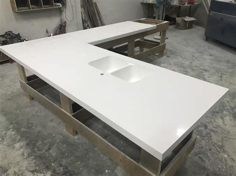 Corian Glacier White by Wanbest Corian Solid Surface Countertop Oem Furniture