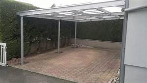 Carport Structure Mtallique Revtements Modernes Du Toit