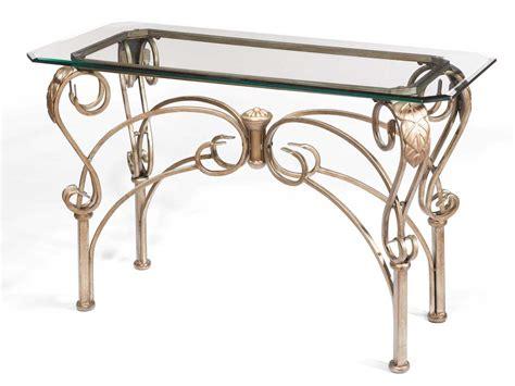 wrought iron sofa table wrought iron sofa table homesfeed