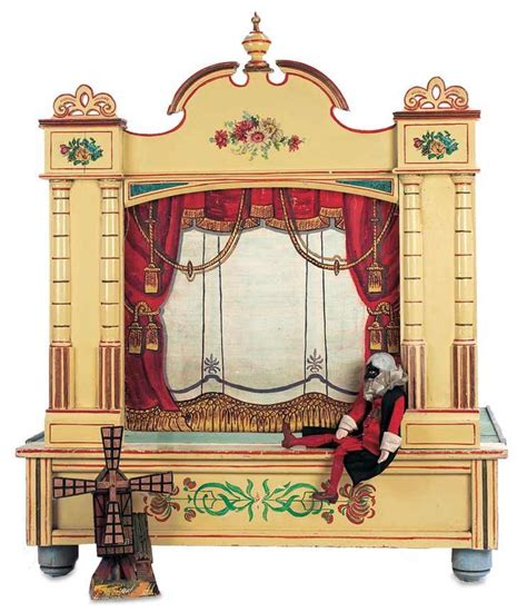vintage puppet theater search quot the danube quot set