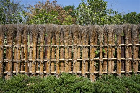 Japanischer Garten Zaun by Traditioneller Japanischer Zaun Stockfoto Bild