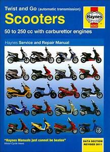 Scooter Repair Manual By Haynes