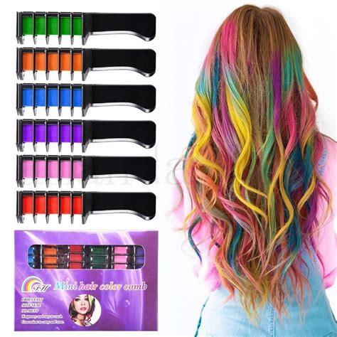 Rosenice Hair Chalk Comb Shimmer Temporary