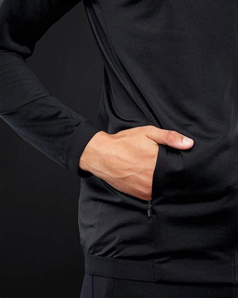 panchina milan giacca allenamento ac milan versione panchina nero