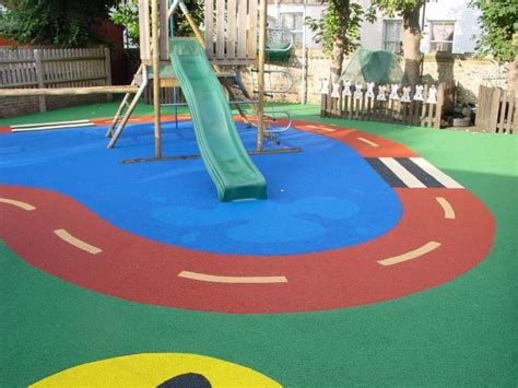 Poured Rubber Flooring For Playgrounds by Kodiak Sports Rubber Flooring Synthetic Turf
