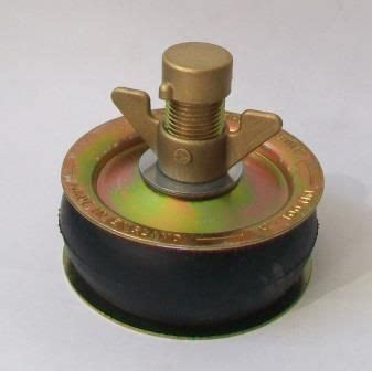 "Pressed Steel Heavy Duty Drain Testing Plug 4"" / 110mm"
