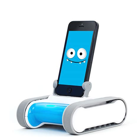 phone controlled robot romo smartphone controlled robot thinkgeek
