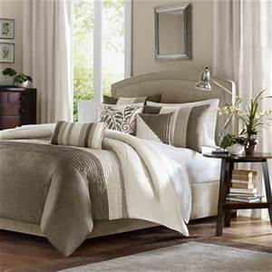 buy taupe ivory comforter sets from bed bath beyond With bed bath and beyond bedspread sets