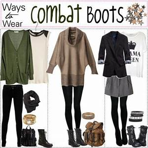 just got gifted some combat boots... now what to wear with ...