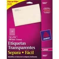 etiquetas de correspondencia etiqueta averyr 5667 With avery 5667