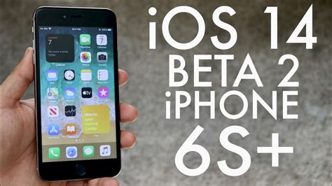 iOS 14 Beta 2 On iPhone 6S Plus! (Review) - All Tech News