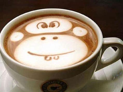 monkey coffee monkey coffee art pinterest