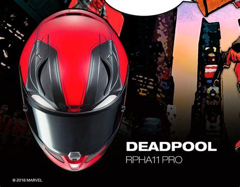 Check Out The New 2018 Hjc Rpha 11 Deadpool Helmet
