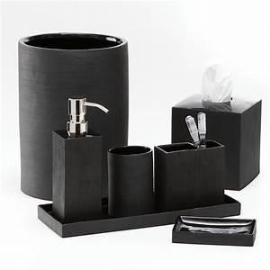 Bad Accessoires Gold : black bathroom accessories ~ Whattoseeinmadrid.com Haus und Dekorationen