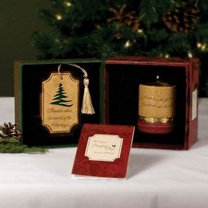 FAMILY Christmas fort Candles Gift Set Families Xmas