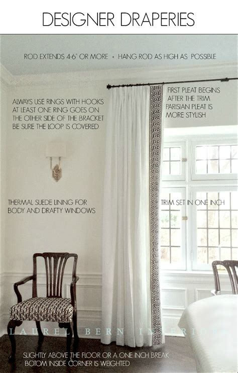 how to get window treatments like you see in magazines