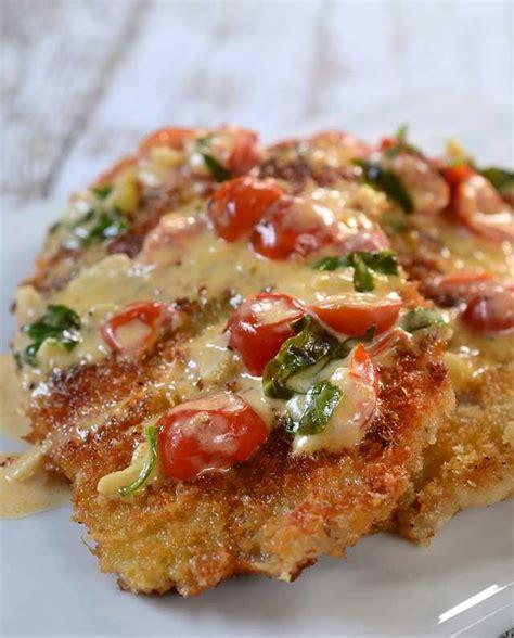 recipe  parmesan crusted tilapia  tomato basil