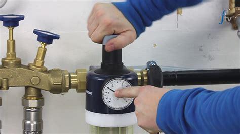 wasser druckminderer mit wasserfilter r 252 cksp 252 lfilter mit druckminderer reinigen und druck einstellen