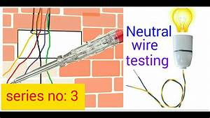 How To Test Neutral Wire In Hindi  Hindi  Urdu