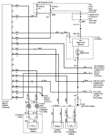 1997 honda civic electrical wiring diagram 1997 honda civic electrical wiring diagram