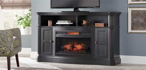 fireplace entertainment center  home depot