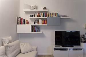 Etagere Suspendue Ikea : etag res lack et besta ~ Melissatoandfro.com Idées de Décoration