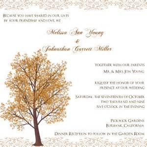 response cards for wedding autumn wedding invitation wording archives the wedding