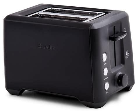 breville country kitchen breville the bit more 2 slice toaster black sesame 1781