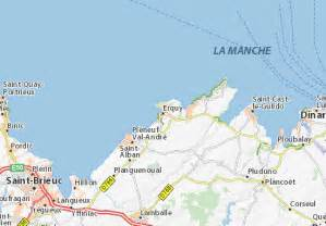 Via Michelion by Map Of Erquy Michelin Erquy Map Viamichelin