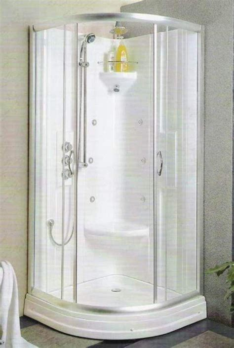 shower stalls  small space  ideal corner shower