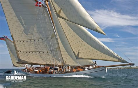 Sailing Boat Yawl by Summers And Payne 95 Ft Yawl 1900 Sandeman Yacht Company
