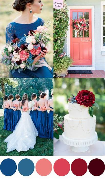 Royal Colors August July Weddings Peach Coral