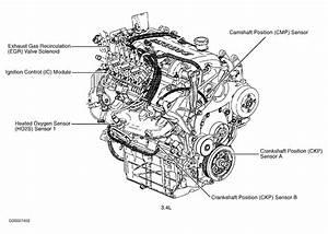 2001 Oldsmobile Alero Oxygen Sensor  Were Is The Upstream